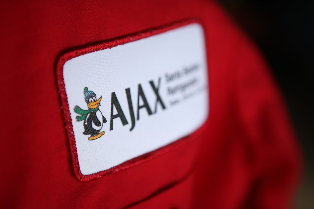 Ajax name tag