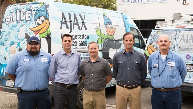 Ajax refrigeration main crew
