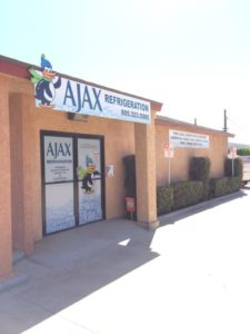 AJAX Ice machine showrooms