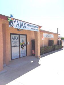 AJAX Ice machine showrooms