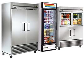 Refrigerator and vending machine